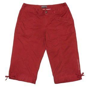 Dockers Curvy Tie Leg Capri Pants